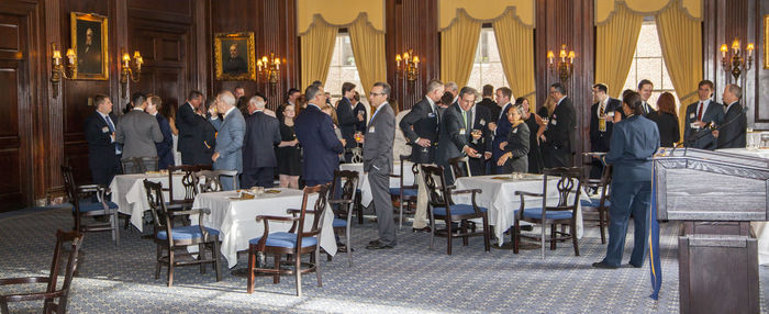 Alumni NDL NYC 2015 event pano