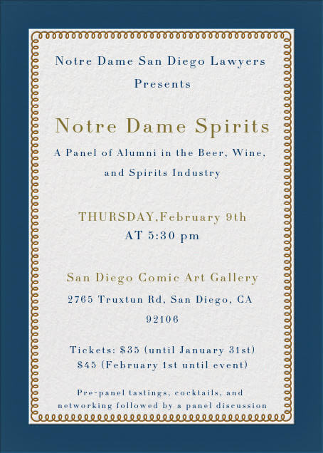 Sd Spirits Invite