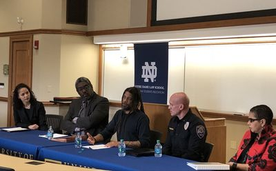 Black Law Students Association Panel Social Justice