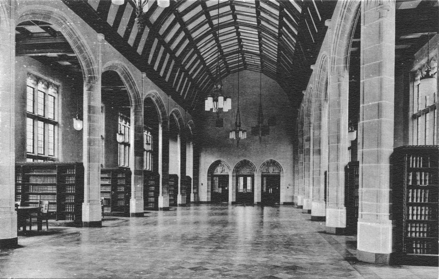 Inside the law library interior
