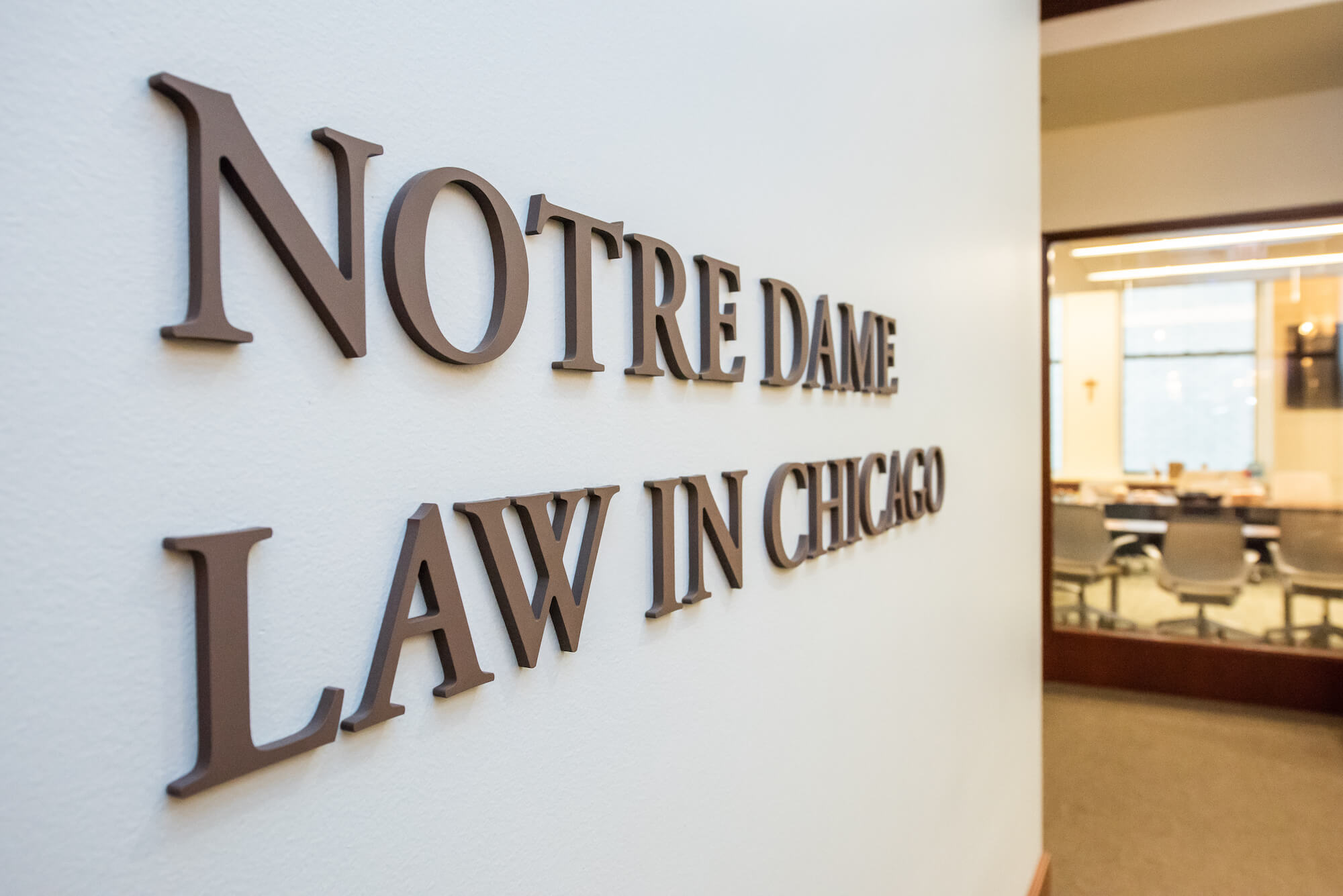 Notre Dame Law Chicago Offices