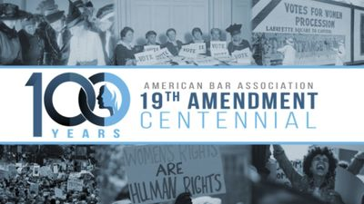 Aba 19th Amendment Logo