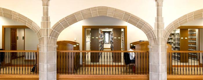 Kresge Library Reserve Room