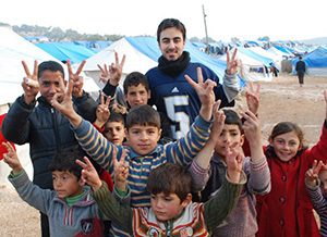 Kenan Rahmani and Refugees