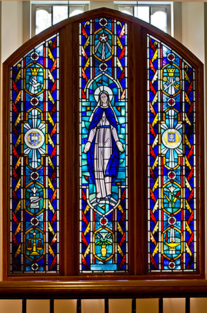 The Rev Michael McCafferty Window